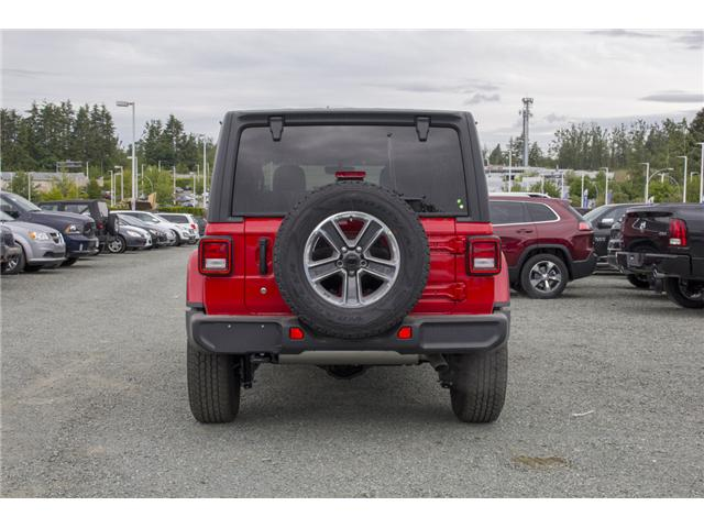 2018 Jeep Wrangler Unlimited Sahara (Stk: J153696) in Abbotsford - Image 6 of 26