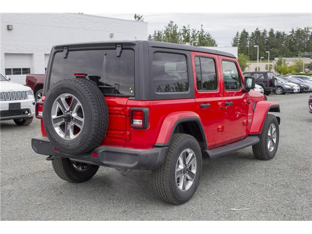 2018 Jeep Wrangler Unlimited Sahara (Stk: J153696) in Abbotsford - Image 7 of 26