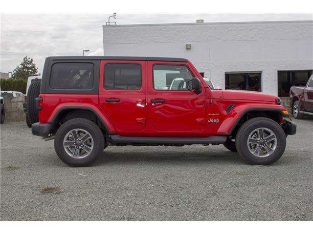 2018 Jeep Wrangler Unlimited Sahara (Stk: J153696) in Abbotsford - Image 8 of 26