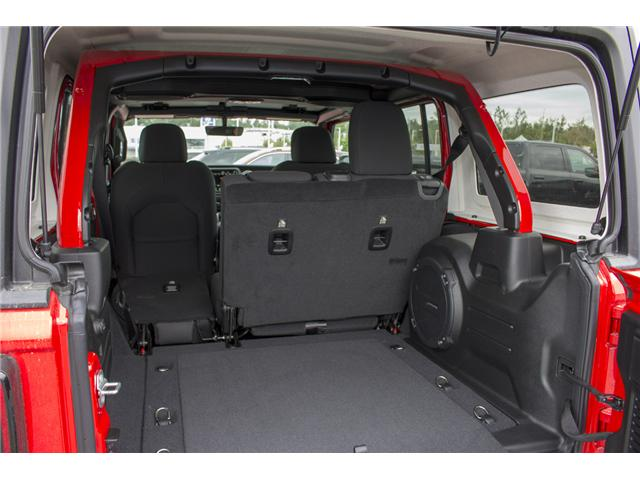 2018 Jeep Wrangler Unlimited Sahara (Stk: J153696) in Abbotsford - Image 9 of 26