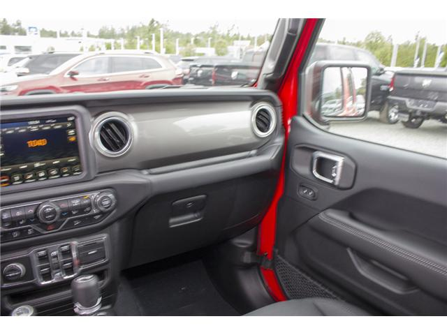 2018 Jeep Wrangler Unlimited Sahara (Stk: J153696) in Abbotsford - Image 15 of 26