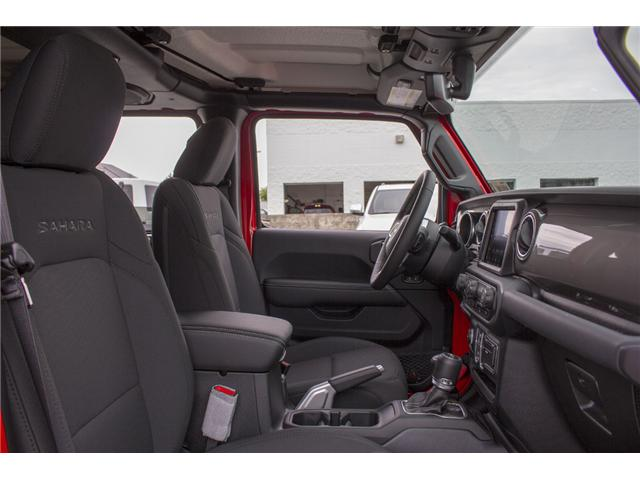 2018 Jeep Wrangler Unlimited Sahara (Stk: J153696) in Abbotsford - Image 18 of 26