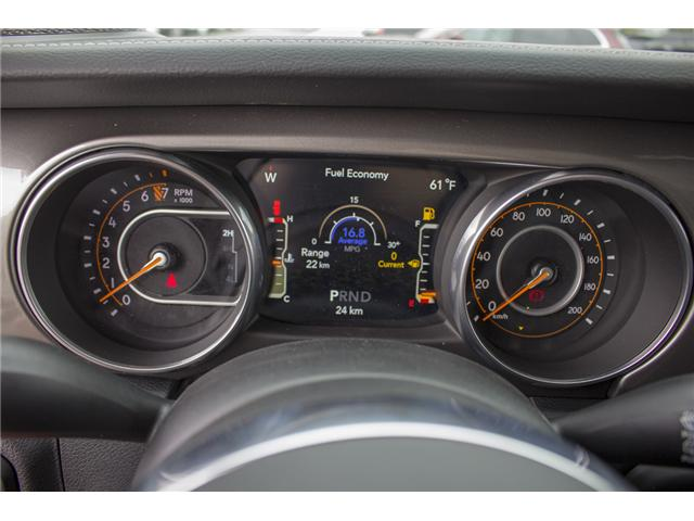 2018 Jeep Wrangler Unlimited Sahara (Stk: J153696) in Abbotsford - Image 21 of 26