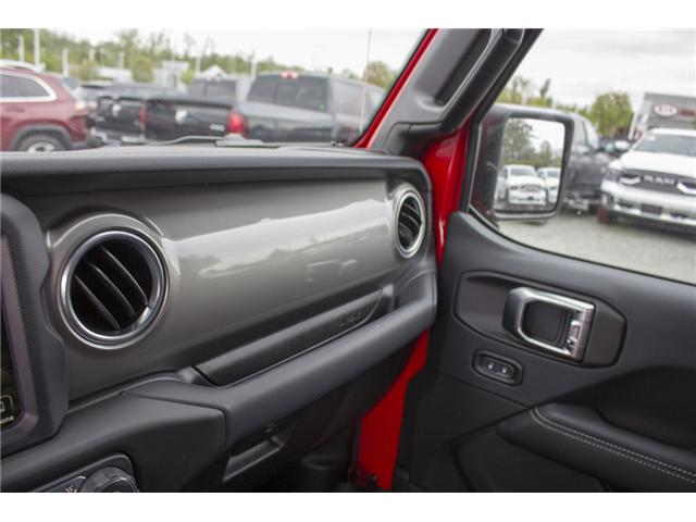 2018 Jeep Wrangler Unlimited Sahara (Stk: J153696) in Abbotsford - Image 25 of 26