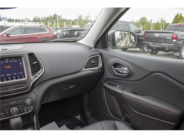 2019 Jeep Cherokee Trailhawk (Stk: K183620) in Abbotsford - Image 16 of 23