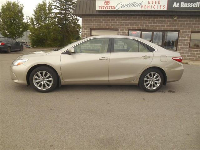 2016 Toyota Camry XLE V6 (Stk: U7186) in Peterborough - Image 2 of 10