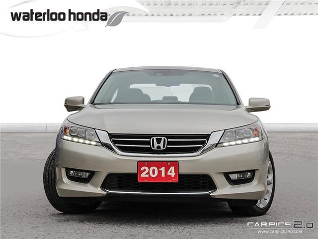 2014 Honda Accord Touring V6 (Stk: U3833) in Waterloo - Image 2 of 28