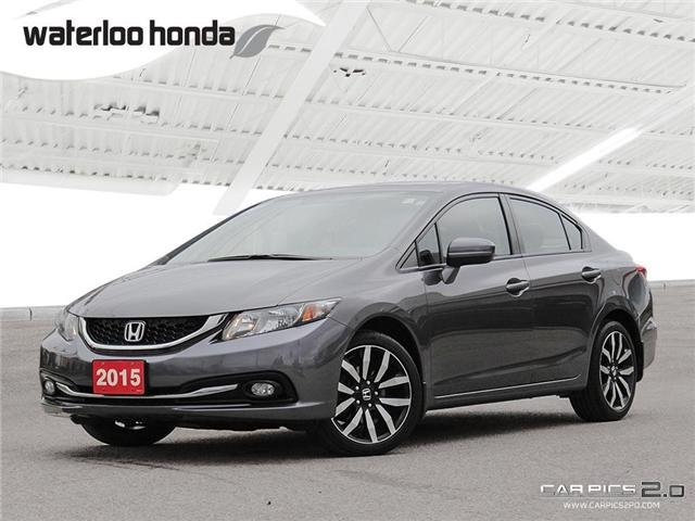 2015 Honda Civic Touring (Stk: U3944) in Waterloo - Image 1 of 28