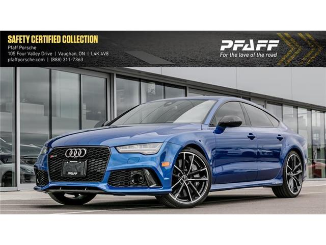 2017 Audi RS 7 4.0T Performance quattro 8sp Tiptronic (Stk: P12403A) in Vaughan - Image 1 of 22