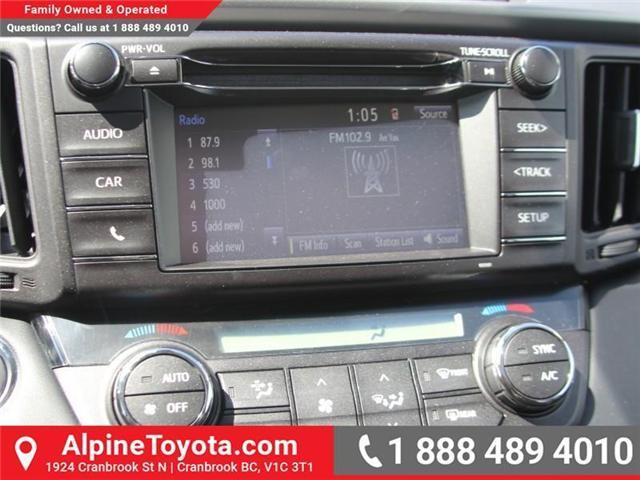 2018 Toyota RAV4  (Stk: W732336) in Cranbrook - Image 12 of 17