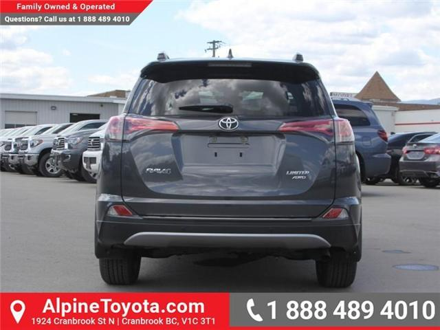 2018 Toyota RAV4 Limited (Stk: W784848) in Cranbrook - Image 4 of 20