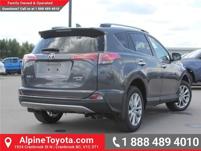 2018 Toyota RAV4 Limited (Stk: W784848) in Cranbrook - Image 5 of 20
