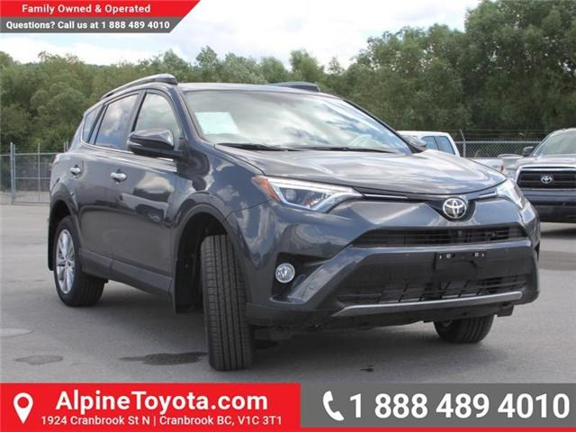 2018 Toyota RAV4 Limited (Stk: W784848) in Cranbrook - Image 7 of 20