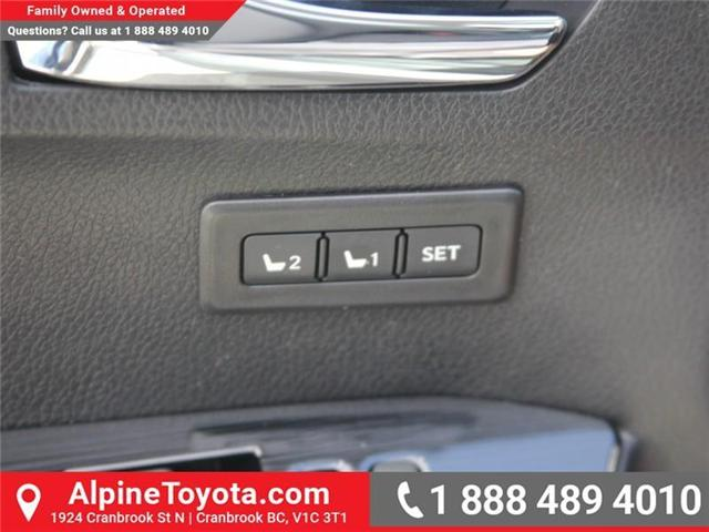 2018 Toyota RAV4 Limited (Stk: W784848) in Cranbrook - Image 17 of 20