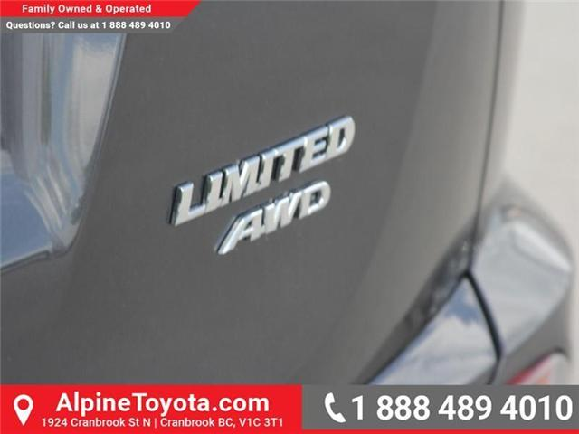 2018 Toyota RAV4 Limited (Stk: W784848) in Cranbrook - Image 20 of 20