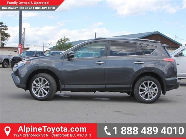 2018 Toyota RAV4 Limited (Stk: W784848) in Cranbrook - Image 2 of 20