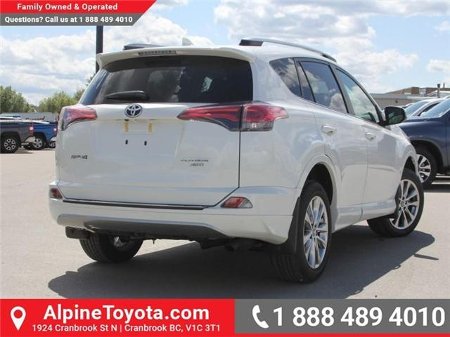 2018 Toyota RAV4 Limited (Stk: W784670) in Cranbrook - Image 5 of 19