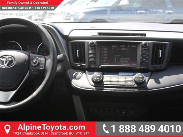 2018 Toyota RAV4 Limited (Stk: W784670) in Cranbrook - Image 10 of 19