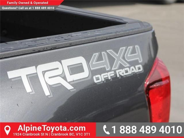 2018 Toyota Tacoma SR5 (Stk: X145720) in Cranbrook - Image 17 of 18