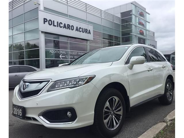 2016 Acura RDX Base (Stk: 800200P) in Brampton - Image 1 of 3