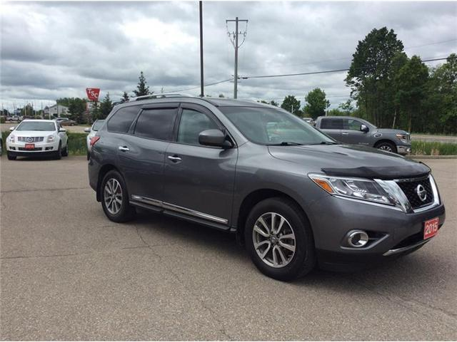 2015 Nissan Pathfinder SL (Stk: 18-086A) in Smiths Falls - Image 8 of 13