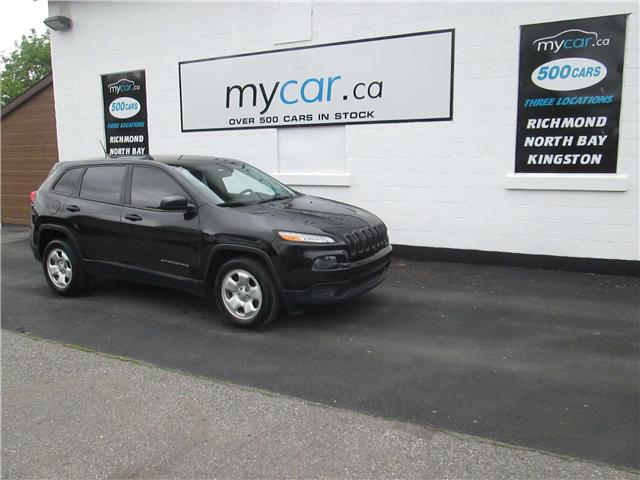 2014 Jeep Cherokee Sport (Stk: 180546) in Kingston - Image 2 of 13
