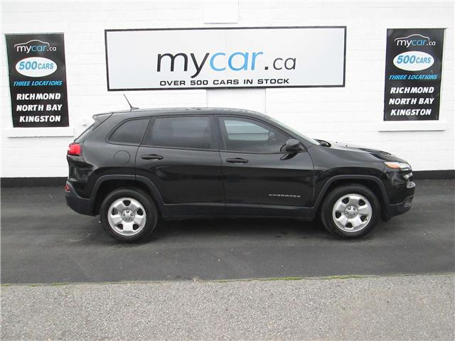 2014 Jeep Cherokee Sport (Stk: 180546) in Kingston - Image 1 of 13