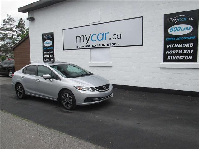 2015 Honda Civic EX (Stk: 180708) in Kingston - Image 2 of 14