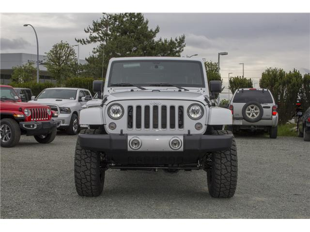 2018 Jeep Wrangler JK Unlimited Sahara (Stk: J802858) in Abbotsford - Image 2 of 23