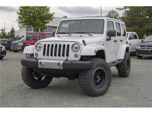 2018 Jeep Wrangler JK Unlimited Sahara (Stk: J802858) in Abbotsford - Image 3 of 23