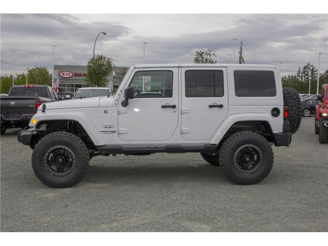 2018 Jeep Wrangler JK Unlimited Sahara (Stk: J802858) in Abbotsford - Image 4 of 23