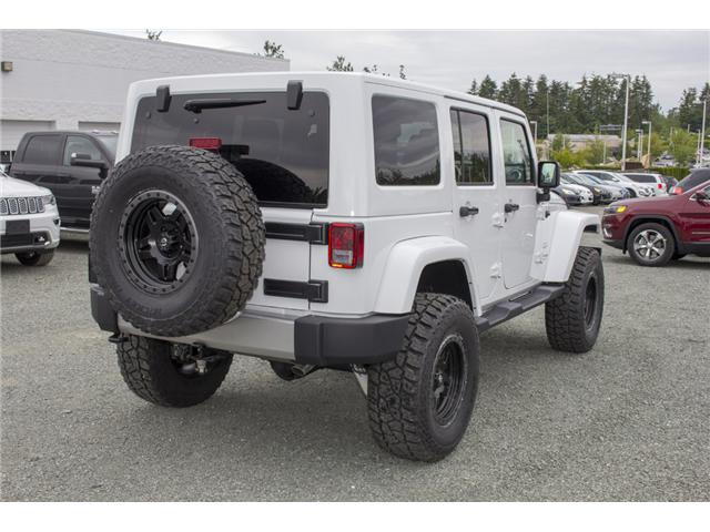 2018 Jeep Wrangler JK Unlimited Sahara (Stk: J802858) in Abbotsford - Image 7 of 23