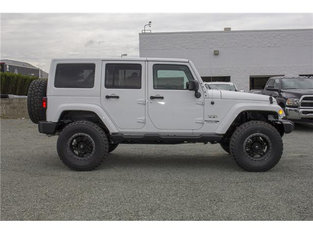 2018 Jeep Wrangler JK Unlimited Sahara (Stk: J802858) in Abbotsford - Image 8 of 23