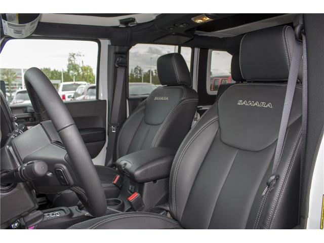 2018 Jeep Wrangler JK Unlimited Sahara (Stk: J802858) in Abbotsford - Image 10 of 23