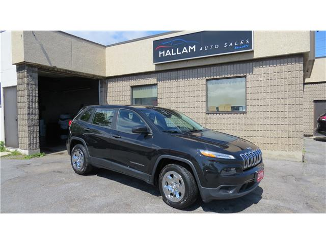 2014 Jeep Cherokee Sport (Stk: ) in Kingston - Image 1 of 18