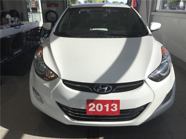 2013 Hyundai Elantra Limited (Stk: K18441A) in Windsor - Image 2 of 11
