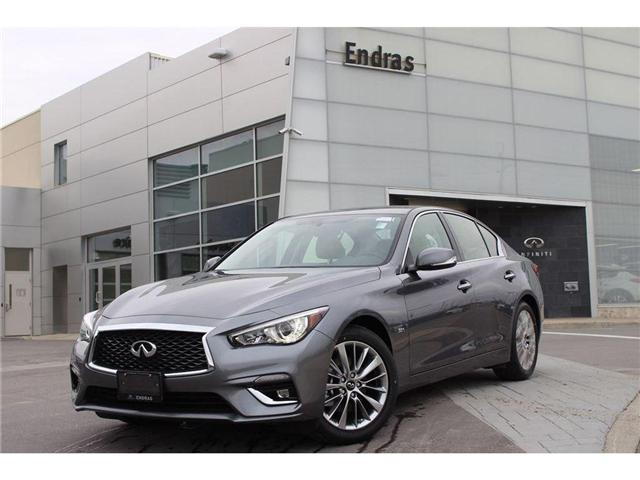 2018 Infiniti Q50 3.0t LUXE (Stk: 50471) in Ajax - Image 1 of 18