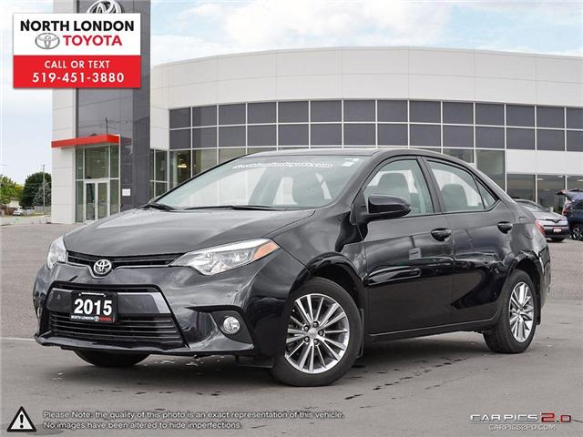 2015 Toyota Corolla LE (Stk: A218561) in London - Image 1 of 27