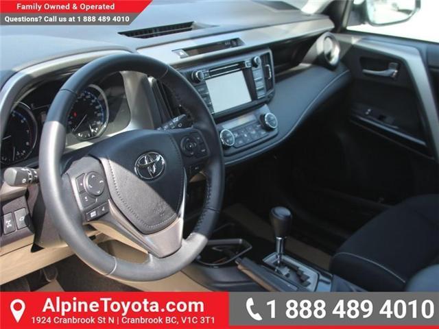 2018 Toyota RAV4 XLE (Stk: W789370) in Cranbrook - Image 9 of 17