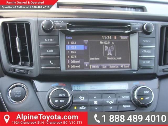 2018 Toyota RAV4 XLE (Stk: W789370) in Cranbrook - Image 13 of 17