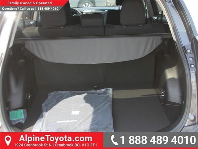 2018 Toyota RAV4 XLE (Stk: W789370) in Cranbrook - Image 16 of 17