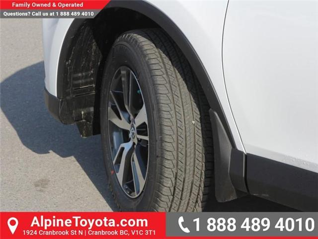 2018 Toyota RAV4 LE (Stk: W795128) in Cranbrook - Image 14 of 16