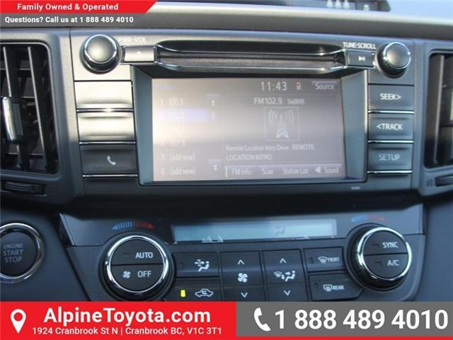 2018 Toyota RAV4 XLE (Stk: W796844) in Cranbrook - Image 12 of 17