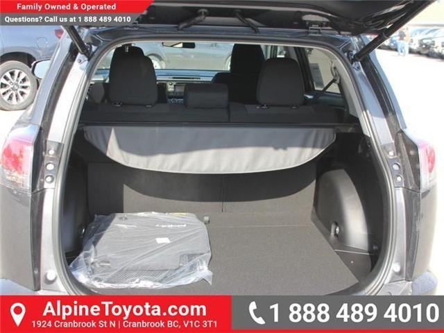 2018 Toyota RAV4 XLE (Stk: W796844) in Cranbrook - Image 16 of 17