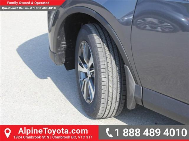 2018 Toyota RAV4 XLE (Stk: W796844) in Cranbrook - Image 17 of 17