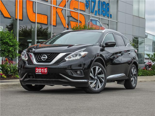 2015 Nissan Murano Platinum (Stk: P4416) in Barrie - Image 1 of 28