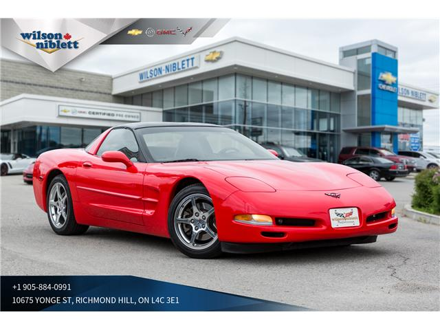 2002 Chevrolet Corvette Base (Stk: U118332) in Richmond Hill - Image 1 of 19