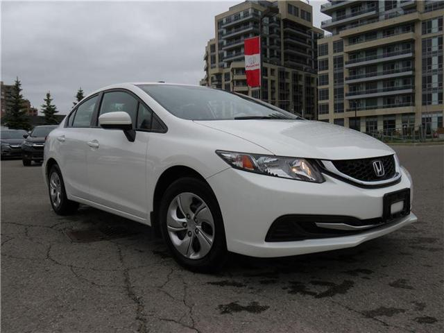 2015 Honda Civic LX (Stk: 180523P) in Richmond Hill - Image 1 of 10