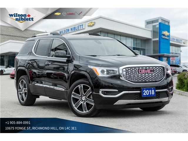2018 GMC Acadia Denali (Stk: P128422) in Richmond Hill - Image 1 of 24