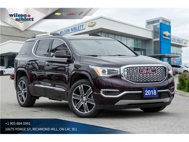 2018 GMC Acadia Denali (Stk: P126441) in Richmond Hill - Image 1 of 22